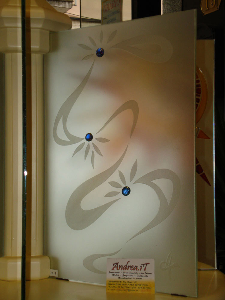Disegni per vetri porte - Vetri decorati per porte scorrevoli ...